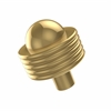 Allied Brass 101AG-UNL 1-1/2 Inch Cabinet Knob, Unlacquered Brass