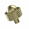 Allied Brass 101AG-SBR 1-1/2 Inch Cabinet Knob, Satin Brass