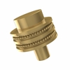 Allied Brass 101D-PB 1-1/2 Inch Cabinet Knob, Polished Brass
