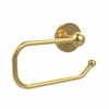 Allied Brass 1024E-PB Skyline Collection Euro Style Toilet Tissue Holder, Polished Brass