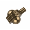 Allied Brass 102AD-BBR 1-1/2 Inch Cabinet Knob, Brushed Bronze