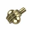 Allied Brass 102AD-SBR 1-1/2 Inch Cabinet Knob, Satin Brass