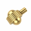 Allied Brass 102AG-PB 1-1/2 Inch Cabinet Knob, Polished Brass