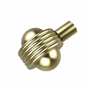 Allied Brass 102AG-SBR 1-1/2 Inch Cabinet Knob, Satin Brass