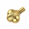 Allied Brass 102AT-UNL 1-1/2 Inch Cabinet Knob, Unlacquered Brass