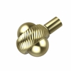 Allied Brass 102AT-SBR 1-1/2 Inch Cabinet Knob, Satin Brass