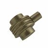 Allied Brass 102D-ABR 1-1/2 Inch Cabinet Knob, Antique Brass