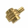 Allied Brass 102D-UNL 1-1/2 Inch Cabinet Knob, Unlacquered Brass