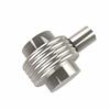 Allied Brass 102G-PNI 1-1/2 Inch Cabinet Knob, Polished Nickel
