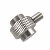 Allied Brass 102G-SN 1-1/2 Inch Cabinet Knob, Satin Nickel