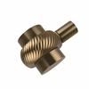 Allied Brass 102T-BBR 1-1/2 Inch Cabinet Knob, Brushed Bronze