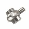 Allied Brass 102T-SN 1-1/2 Inch Cabinet Knob, Satin Nickel