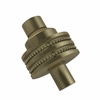 Allied Brass 103D-ABR 1-1/2 Inch Cabinet Knob, Antique Brass