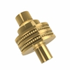 Allied Brass 103D-PB 1-1/2 Inch Cabinet Knob, Polished Brass
