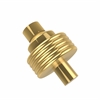Allied Brass 103G-UNL 1-1/2 Inch Cabinet Knob, Unlacquered Brass