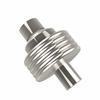 Allied Brass 103G-PNI 1-1/2 Inch Cabinet Knob, Polished Nickel