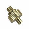 Allied Brass 103G-SBR 1-1/2 Inch Cabinet Knob, Satin Brass