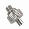 Allied Brass 103G-SN 1-1/2 Inch Cabinet Knob, Satin Nickel