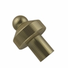 Allied Brass 109-ABR 1 Inch Cabinet Knob, Antique Brass
