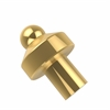 Allied Brass 109-PB 1 Inch Cabinet Knob, Polished Brass