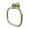 Allied Brass 2016D-SBR Continental Collection Towel Ring with Dotted Accents, Satin Brass