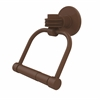 Allied Brass 2024D-ABZ Continental Collection 2 Post Toilet Tissue Holder with Dotted Accents, Antique Bronze