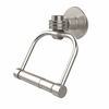 Allied Brass 2024D-SN Continental Collection 2 Post Toilet Tissue Holder with Dotted Accents, Satin Nickel