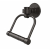 Allied Brass 2024G-ORB Continental Collection 2 Post Toilet Tissue Holder with Groovy Accents, Oil Rubbed Bronze