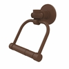 Allied Brass 2024T-ABZ Continental Collection 2 Post Toilet Tissue Holder with Twisted Accents, Antique Bronze