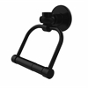 Allied Brass 2024T-BKM Continental Collection 2 Post Toilet Tissue Holder with Twisted Accents, Matte Black