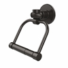 Allied Brass 2024T-ORB Continental Collection 2 Post Toilet Tissue Holder with Twisted Accents, Oil Rubbed Bronze