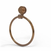 Allied Brass 416D-BBR Venus Collection Towel Ring with Dotted Accent, Brushed Bronze