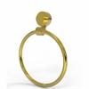 Allied Brass 416-PB Venus Collection Towel Ring, Polished Brass