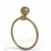 Allied Brass 416-SBR Venus Collection Towel Ring, Satin Brass