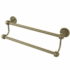 Allied Brass 7272/18-ABR 18 Inch Double Towel Bar, Antique Brass