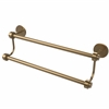 Allied Brass 7272/18-BBR 18 Inch Double Towel Bar, Brushed Bronze