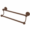 Allied Brass 7272/24-ABZ 24 Inch Double Towel Bar, Antique Bronze