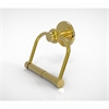 Allied Brass 924T-UNL Mercury Collection 2 Post Toilet Tissue Holder with Twisted Accents, Unlacquered Brass