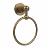 Allied Brass AP-16-BBR Astor Place Collection Towel Ring, Brushed Bronze