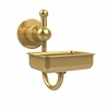 Allied Brass AP-32-UNL Astor Place Wall Mounted Soap Dish, Unlacquered Brass