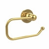 Allied Brass BL-24E-PB Bolero Collection European Style Toilet Tissue Holder, Polished Brass