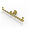 Allied Brass BPDT-HTB-2-PB Dottingham Collection 2 Arm Guest Towel Holder, Polished Brass