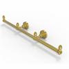 Allied Brass BPDT-HTB-3-PB Dottingham Collection 3 Arm Guest Towel Holder, Polished Brass