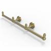 Allied Brass BPDT-HTB-3-SBR Dottingham Collection 3 Arm Guest Towel Holder, Satin Brass