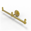 Allied Brass BPMC-HTB-2-PB Monte Carlo Collection 2 Arm Guest Towel Holder, Polished Brass