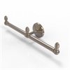 Allied Brass BPMC-HTB-2-PEW Monte Carlo Collection 2 Arm Guest Towel Holder, Antique Pewter