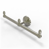 Allied Brass BPMC-HTB-2-PNI Monte Carlo Collection 2 Arm Guest Towel Holder, Polished Nickel