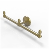 Allied Brass BPMC-HTB-2-SBR Monte Carlo Collection 2 Arm Guest Towel Holder, Satin Brass