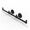 Allied Brass BPMC-HTB-3-ORB Monte Carlo Collection 3 Arm Guest Towel Holder, Oil Rubbed Bronze