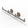 Allied Brass BPMC-HTB-3-PEW Monte Carlo Collection 3 Arm Guest Towel Holder, Antique Pewter